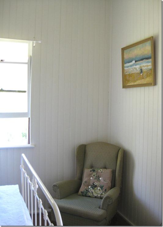 georgina painting chair