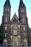The Basilica of St Peter and St Paul in Vysehrad