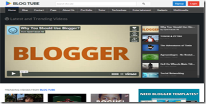 BlogTube-Blogger-Template