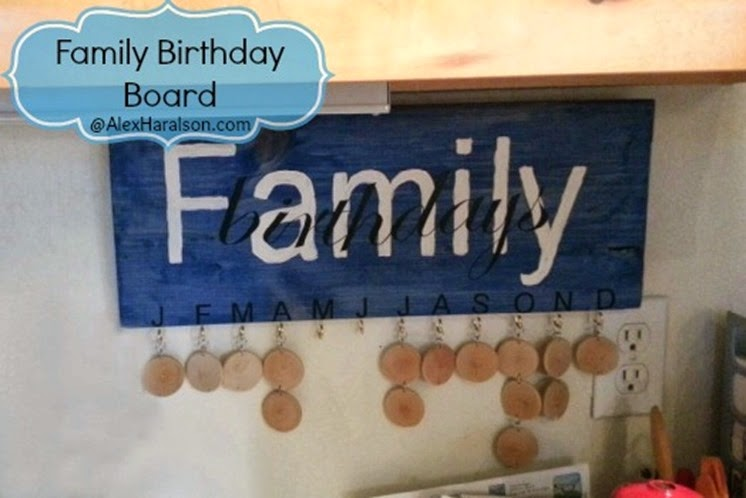 Family Birthday Board26