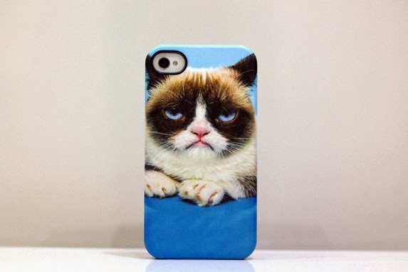 CASEABLE GRUMPY CAT PHONE CASE 1