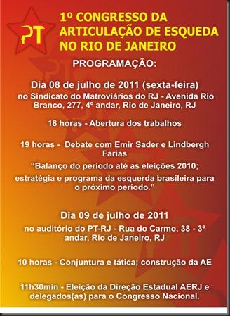 Cartaz Congresso AERJ 2