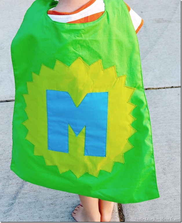 Tutorial- Personalized Superhero Cape