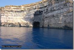 Le grotte e il mare blu di Gozo