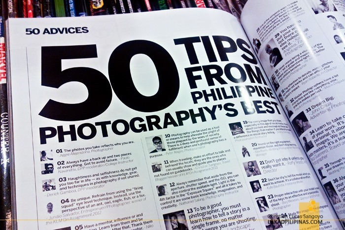 Digital Photographer Philippines' 50 Tips from Philippine Photography's Best