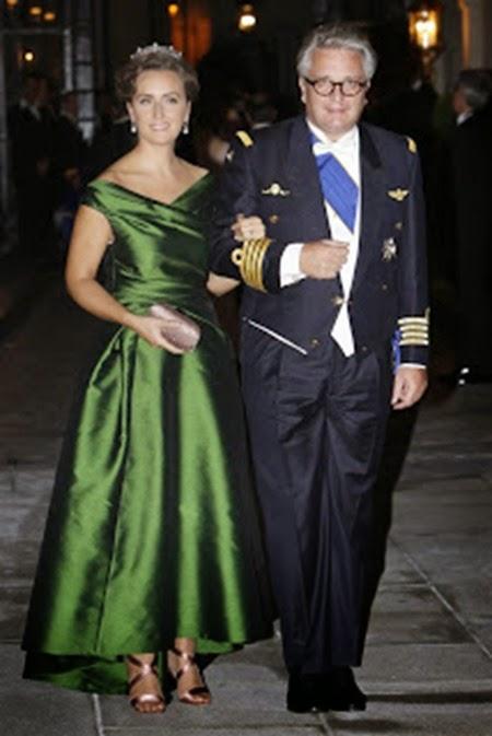 El príncipe Laurent de Bélgica y la princesa Claire
