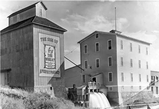 Lewistown Flour Mill-1930