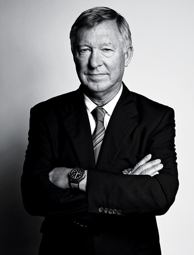 Sir Alex Ferguson by Max Vadaukul for The New York Times Style Magazine, September 11, 2011