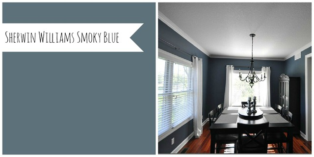 Sherwin Williams Smoky Blue