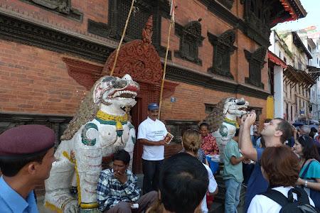 Obiective turistice Nepal: palat Kumari Kathmandu