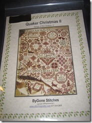 ByGone Stitches Quaker Christmas II