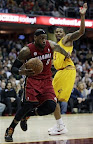 lebron james nba 130320 mia at cle 04 Tale of Two Halves, Two Pairs. LeBron, Heat Erase 27 Point Deficit for Win #24!
