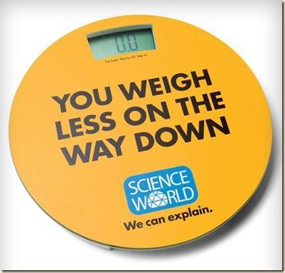 weigh less