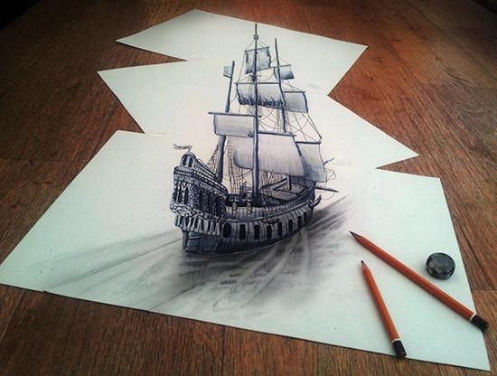 Desenhos 3D lápis (5)