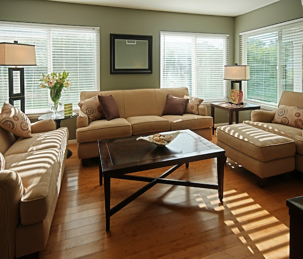 Color schemes for living rooms casual cottage for Living room colors photos