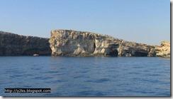 Le grotte - Comino