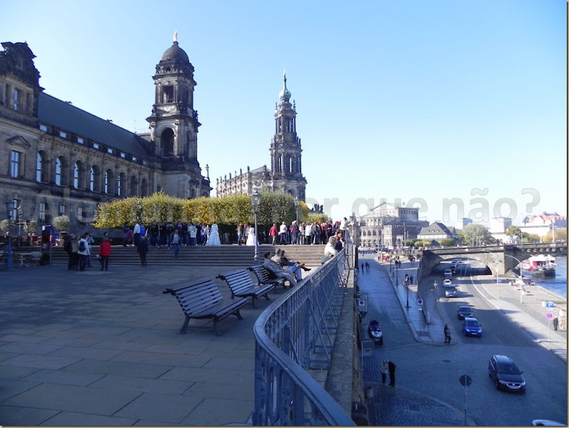 O Brühlsche Terrasse Dresden