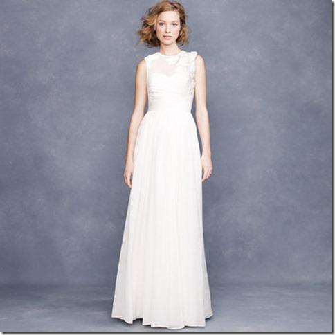 vestido de noiva j creww