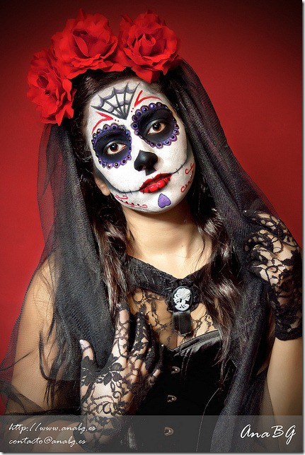 maquillaje de catrina todohalloween (4)