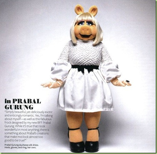 MISS PIGGY IN STYLE