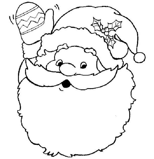 Dibujos Para Imprimir De Papa Noel. Trendy Rbol Y Pap Noel Dibujo ...