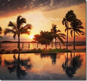 Pôr de sol, Riviera Nayarit Autor Mauricio Oliveira