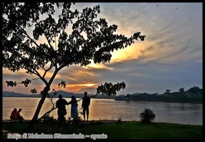 Senja di Mahakam