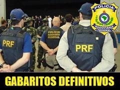 PRF ADMINISTRATIVO - GABARITOS DEFINITIVOS
