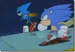 Sonic vs. Metal Sonic
