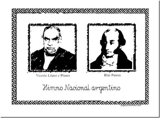 Dibujos Para Colorear Día Del Himno Nacional Argentino Pictures