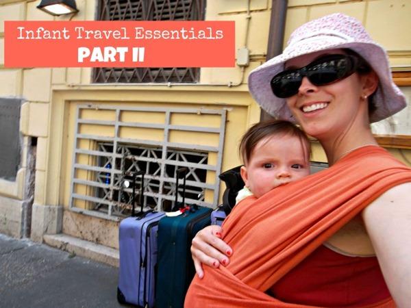 infant travel essentials