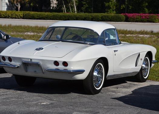 Mom's Corvette!