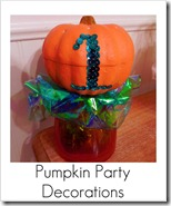 pumpkin party decorations