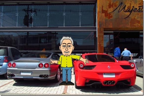 Fantasia Hans - Duas Ferraris