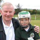 2/7/2012 ECHO SPORT  John Twomey pictured with his grandson James O'Keeffe at Camp Ciaran at the Shamrocks GAA Club recently (PIc Howard Crowdy)