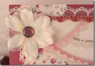 sarah shower card