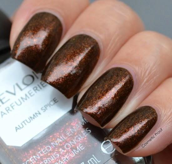 Revlon Parfumerie Autumn Spice Swatch