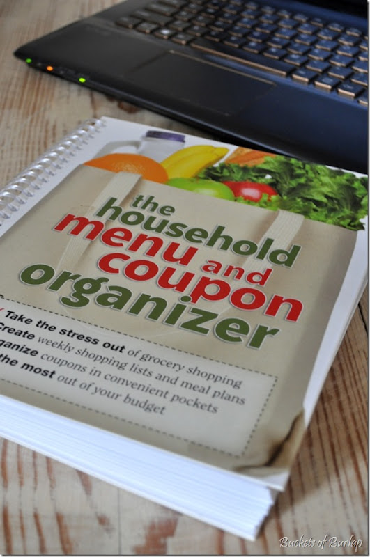 kitchen-menu organizer