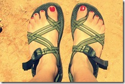 rach's chacos cross process