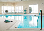 Indoor pool at the Delta Sault Ste. Marie