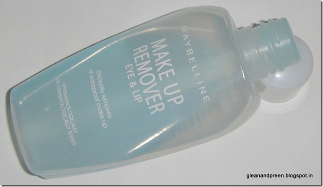 Maybelline Eye & Lip Makeup Remover