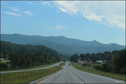 Ride to Bryson City NC