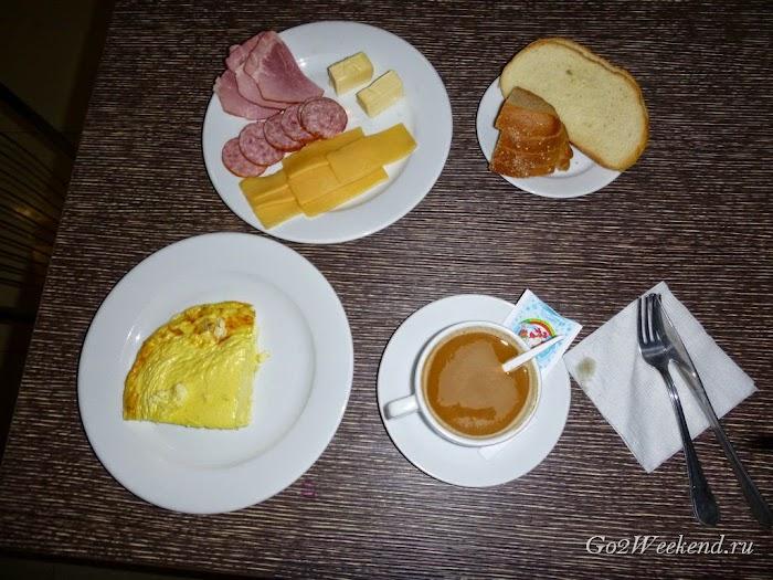 Беловежская пуща завтрак