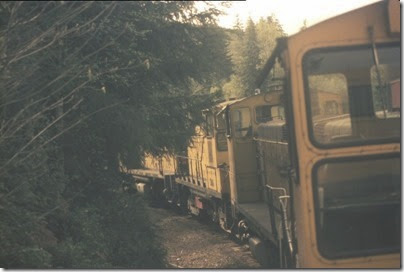 56154116-28 Riding the Weyerhaeuser Woods Railroad (WTCX) on May 17, 2005