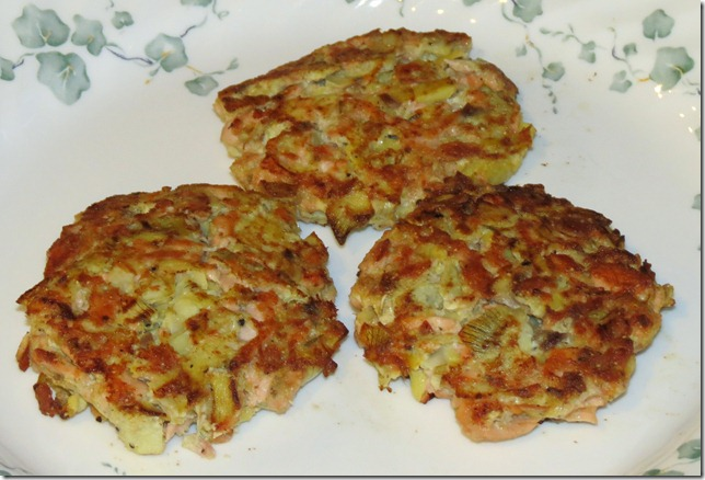Salmon Artichoke Patties (Nov. SRC) 11-2-12