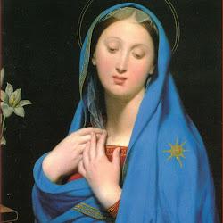 Ingres, Virgin of Adoption 1858