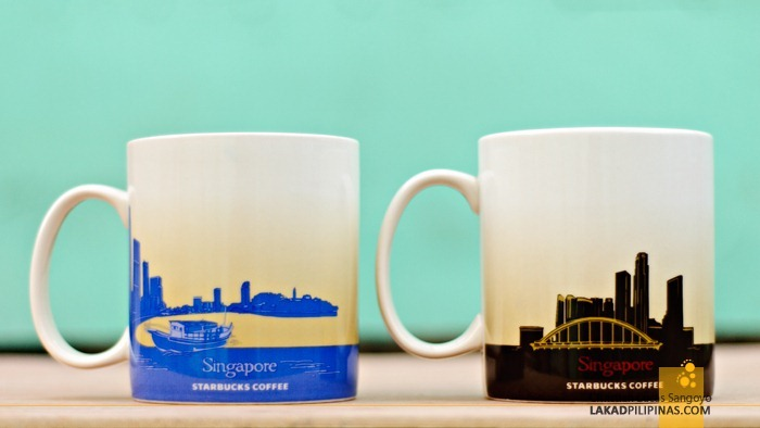 Singapore Starbucks Global Icon City Mug - Backside