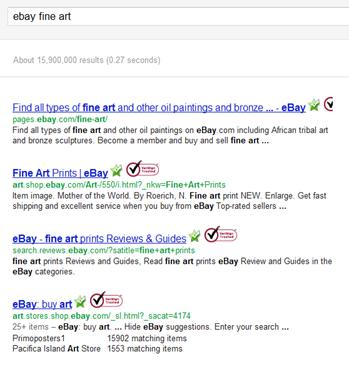 ebay fine art