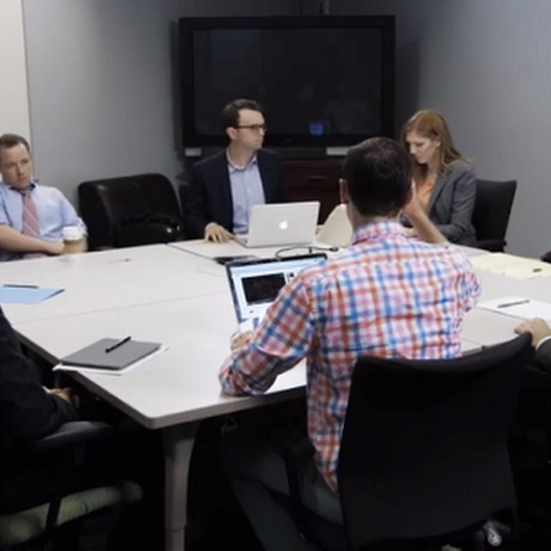 ¿Con quién te identificas en esta reunión?