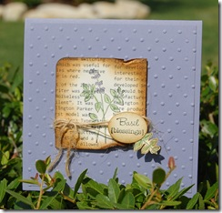Basil Blessings from the Herb Expressions Stamp Set